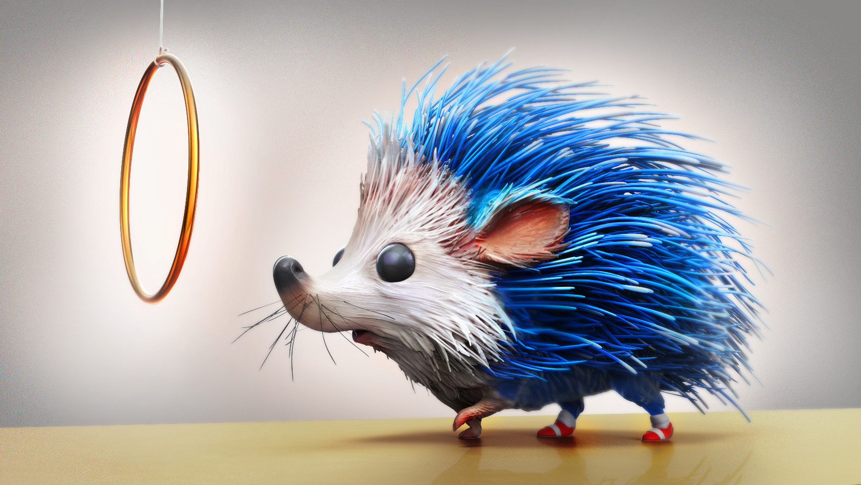 Artstation Sonic The Real Hedgehog 3d Conversion Jeremy Mathecowitsch