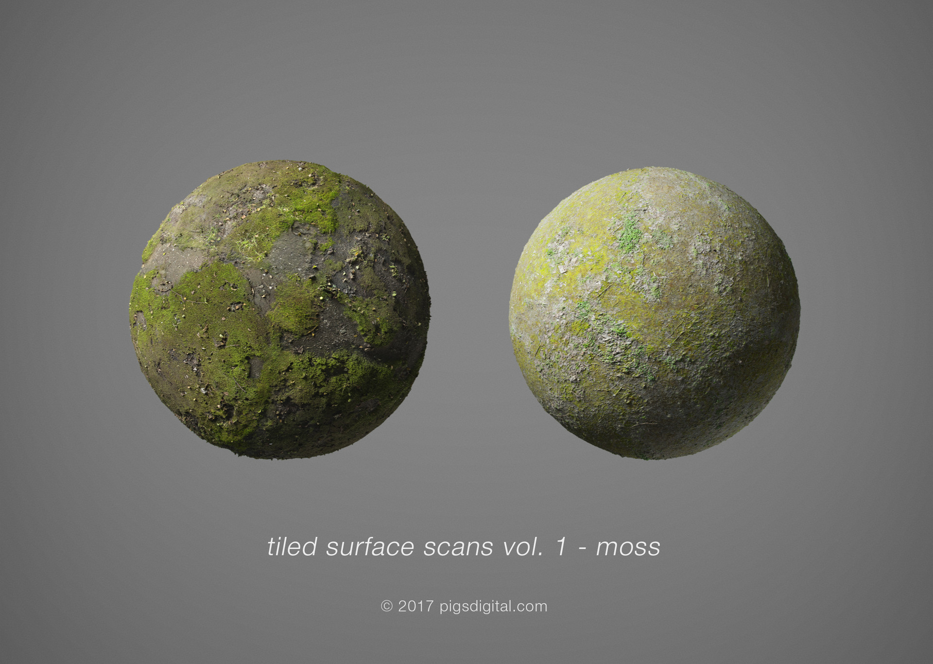 Vitaly varna tiled surface scans vol 1 moss