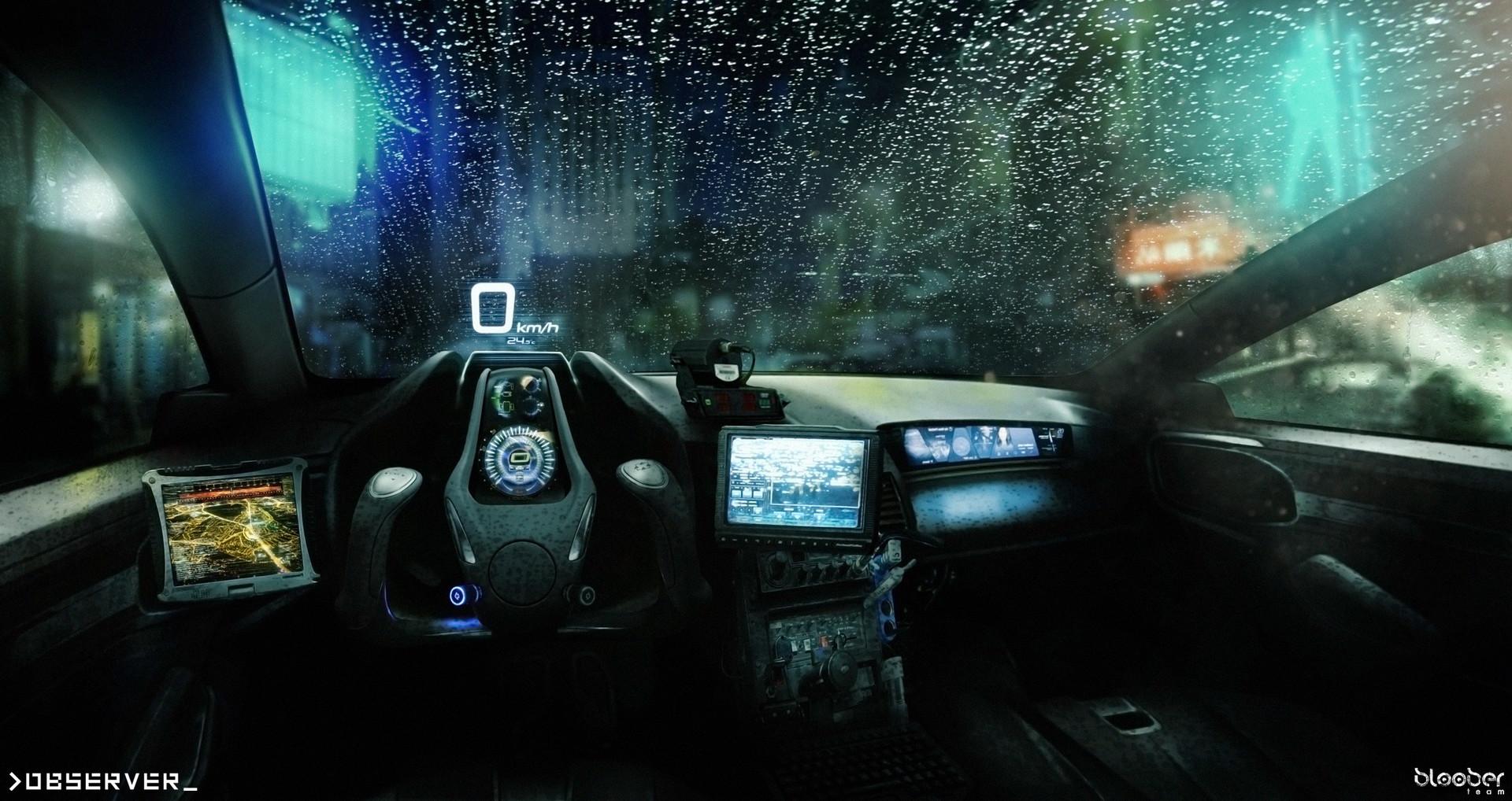 pawel kot police car interior. Black Bedroom Furniture Sets. Home Design Ideas