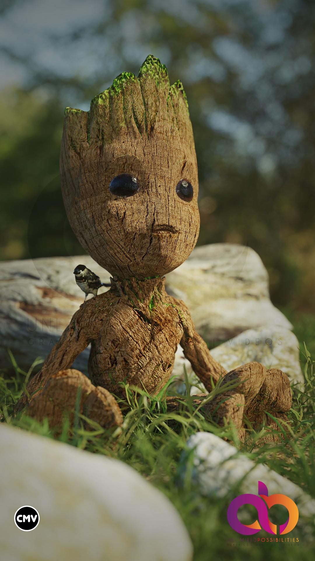 Beyond 3d Baby Groot In Real Life
