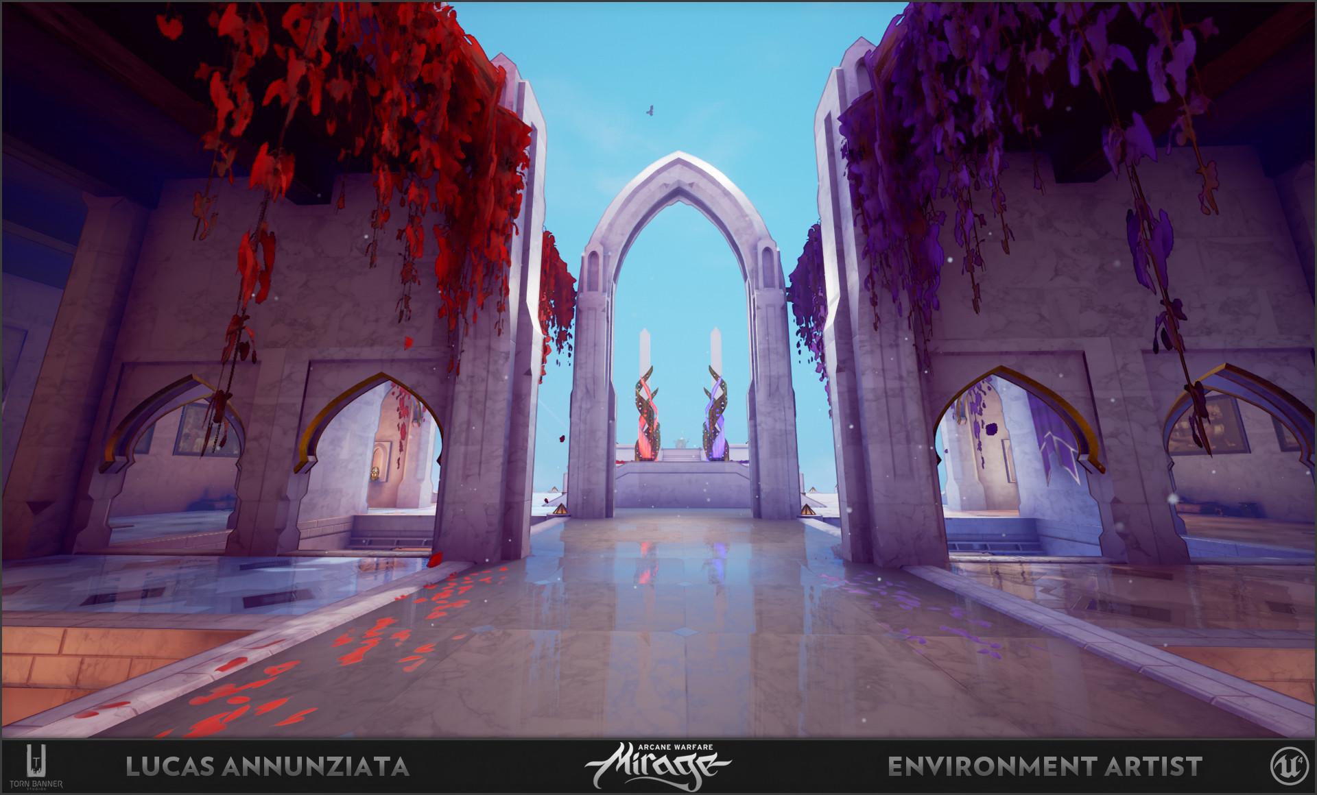 Lucas annunziata courtyard 7