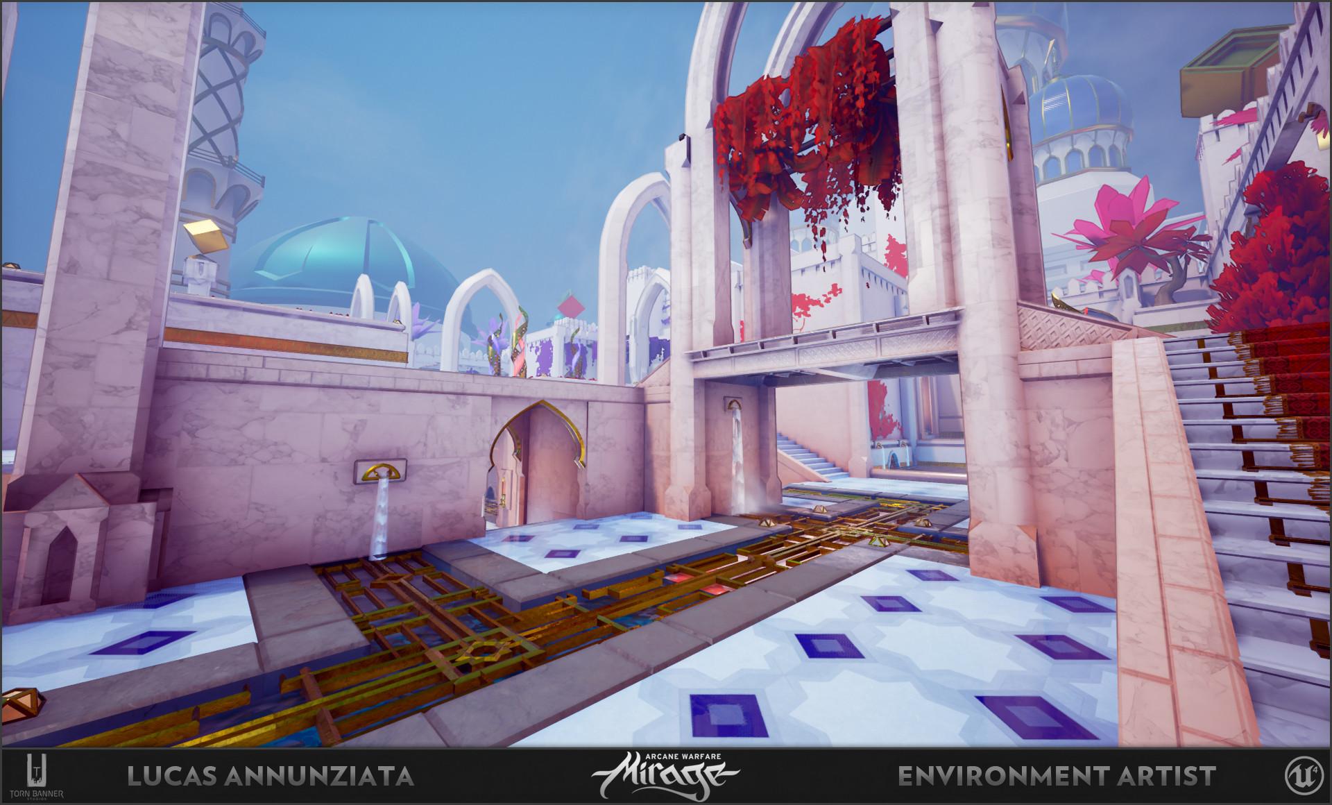Lucas annunziata courtyard 4