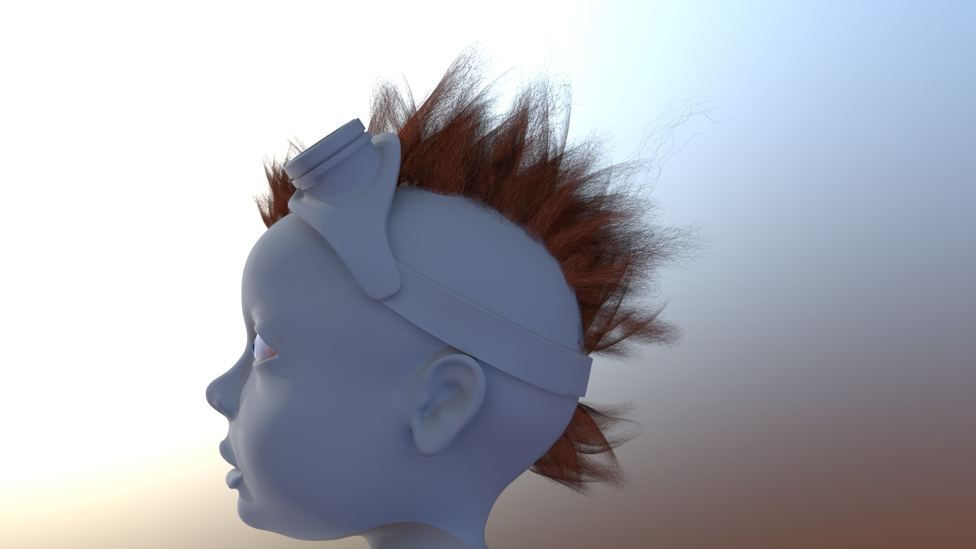 Chingiz jumagulov hair baby