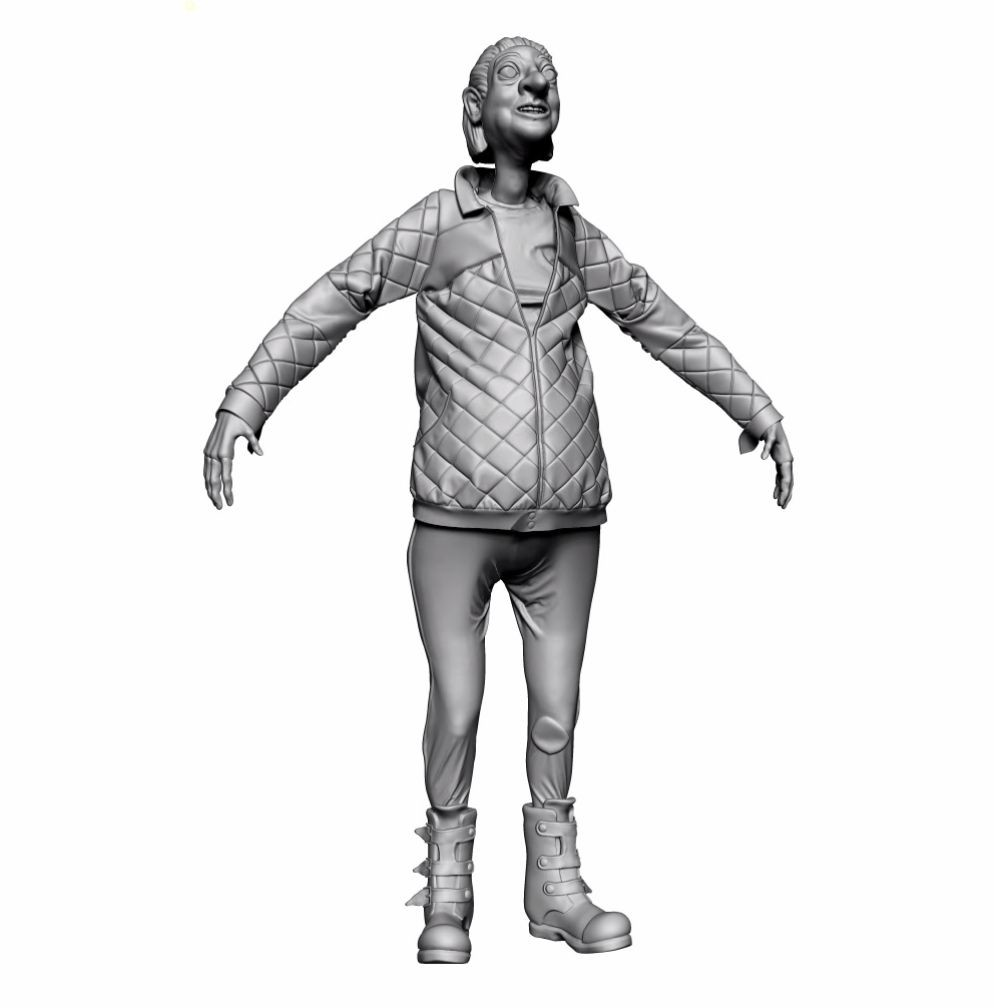 Sculpt of Granny