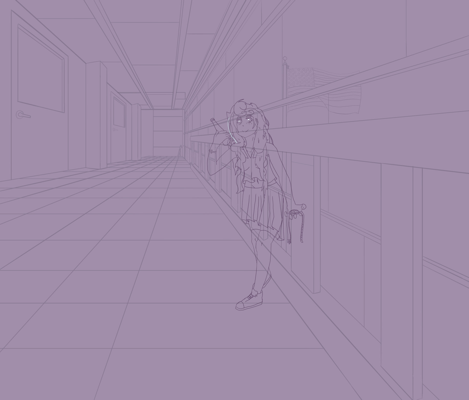 Joseph chanice hallway linework