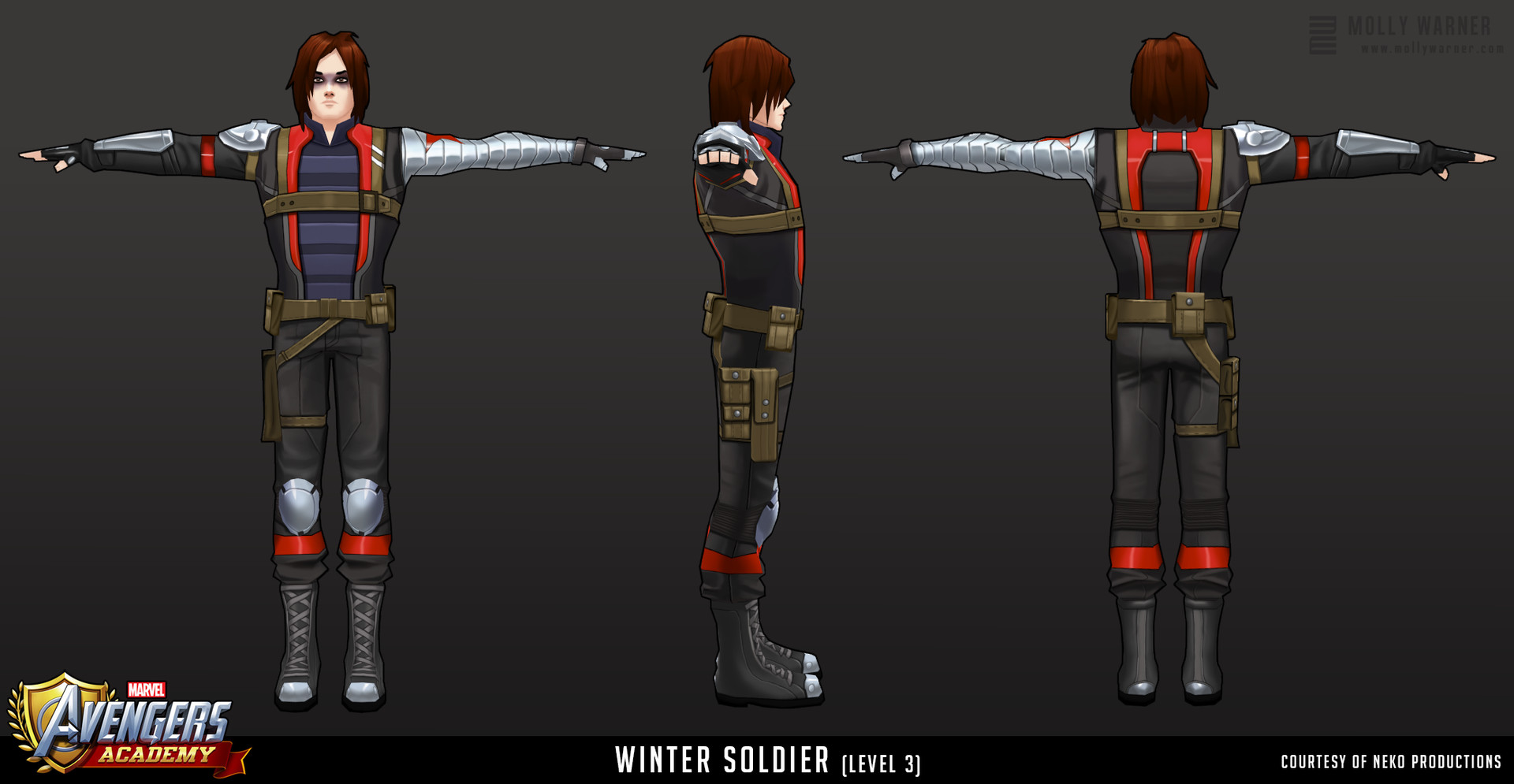 Molly warner 14 avengers academy wintersoldier l3