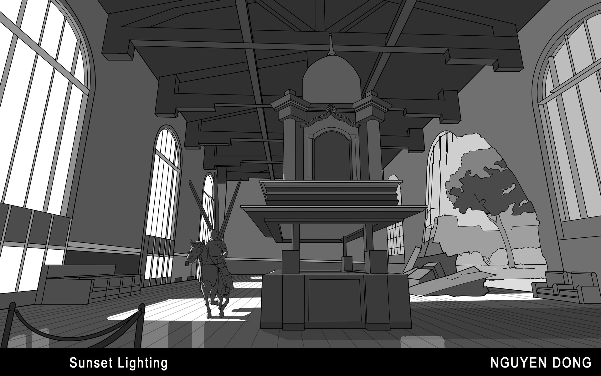 Temple concept