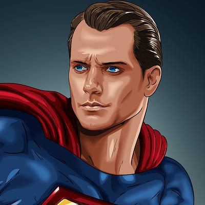 Vassilis dimitros henry cavill superman rebirth by dimitrosw dbfed3c