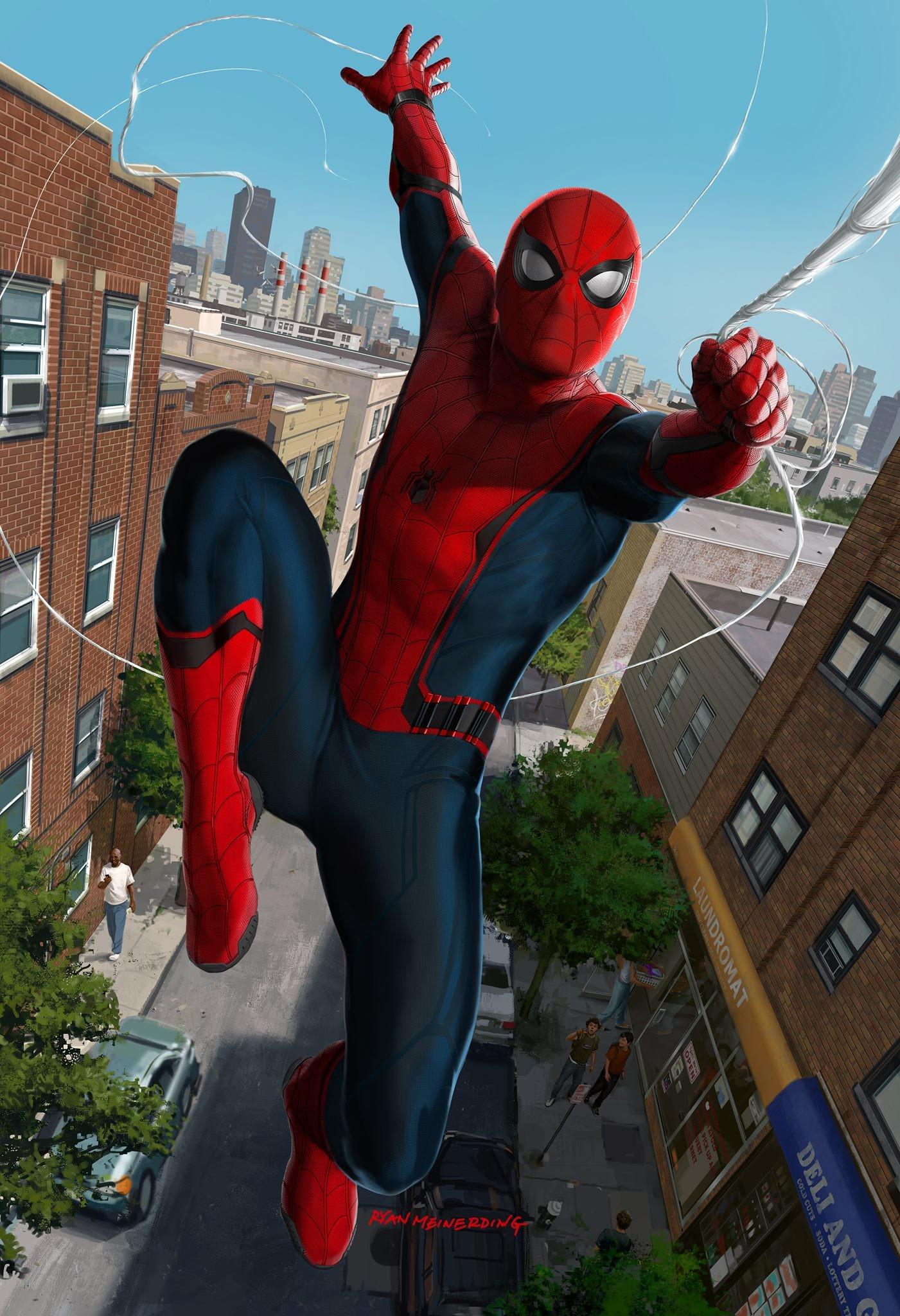Spider man by ryan meinerding imaginarymarvel - Images spiderman ...