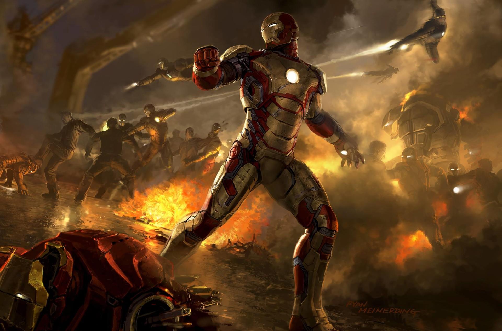 ArtStation - Iron Man 3 Keyframes, Ryan Meinerding