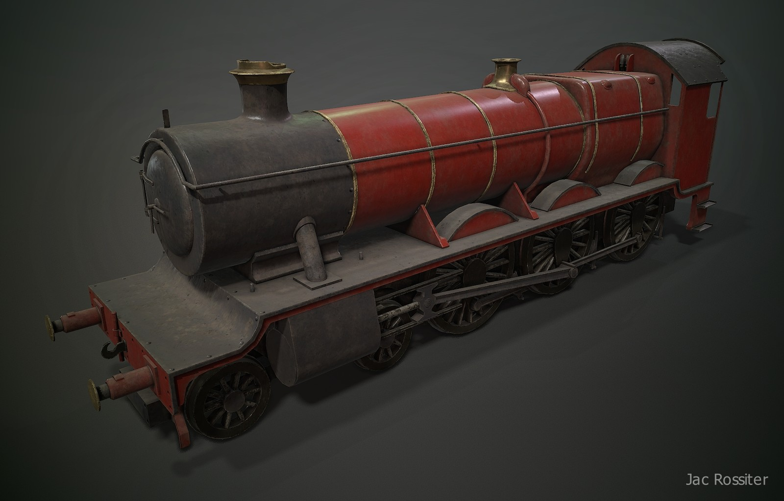 Toy Model Train - Olton Hall Steam Locomotive