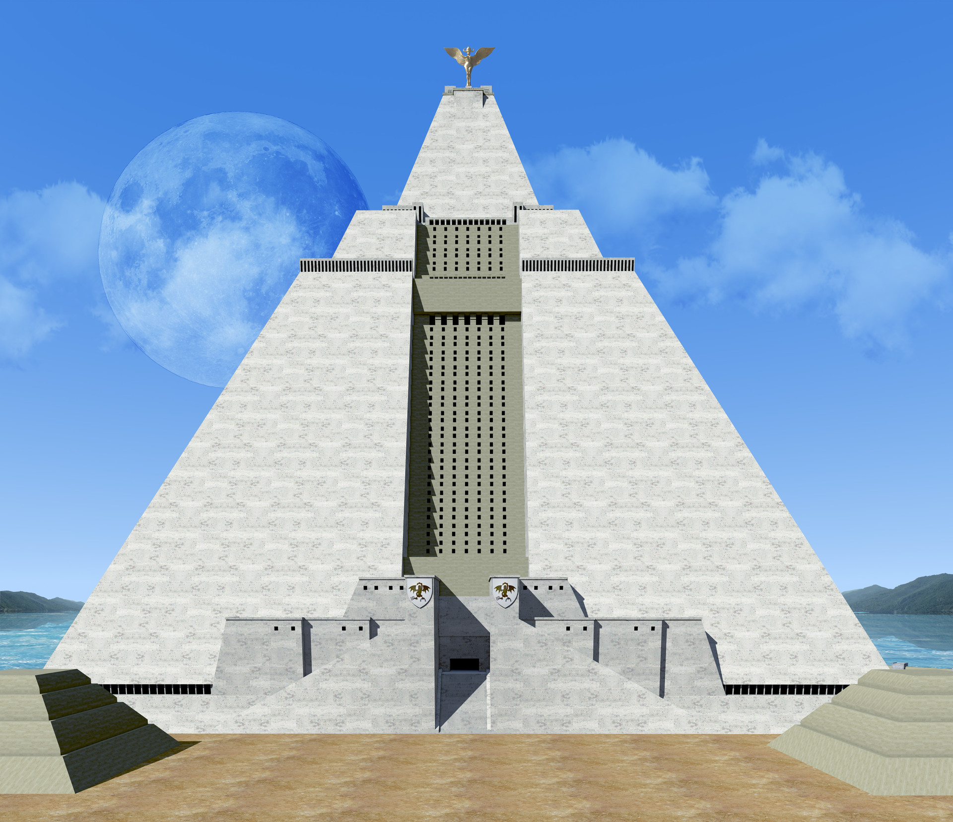 ArtStation - Great Pyramid of MEEREEN , Nicola Mancone