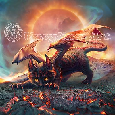 Vasilyna holod cat dragon