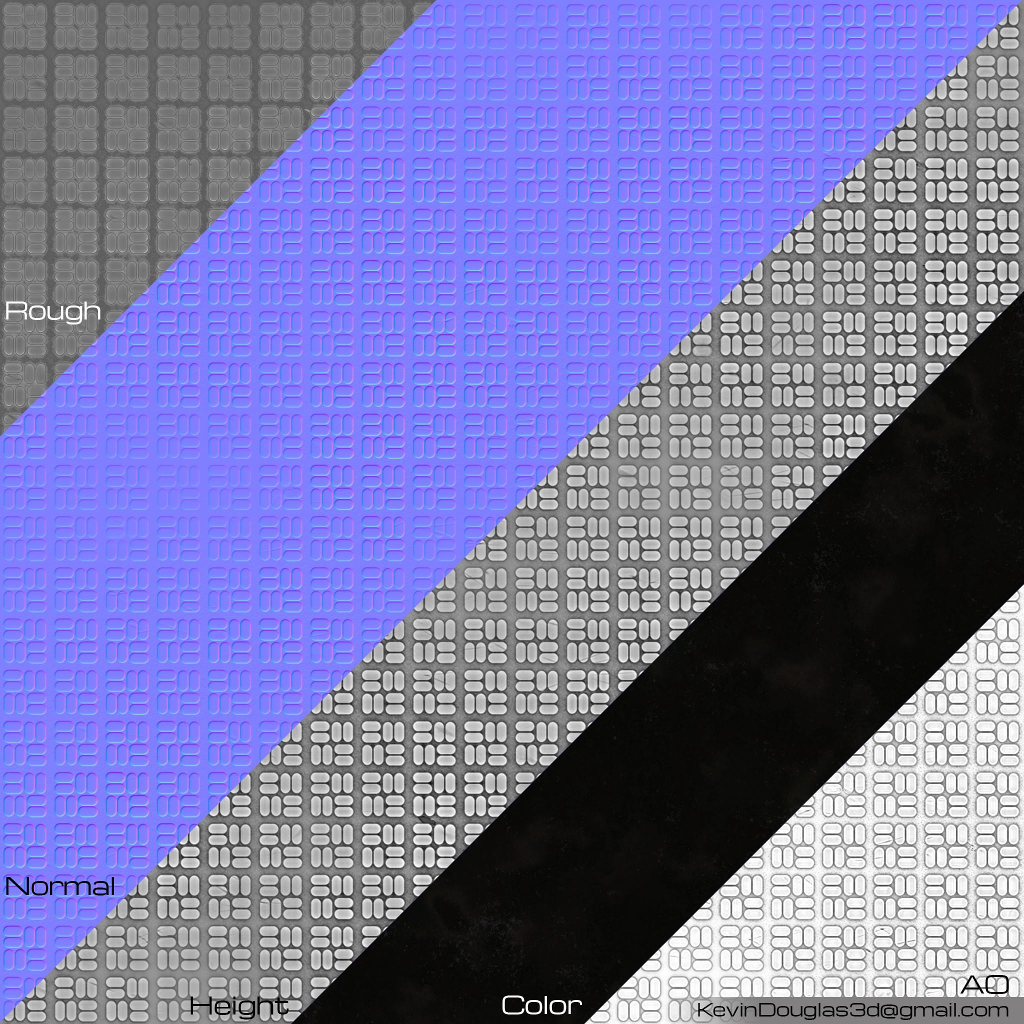 Rubber 5 Texture Maps