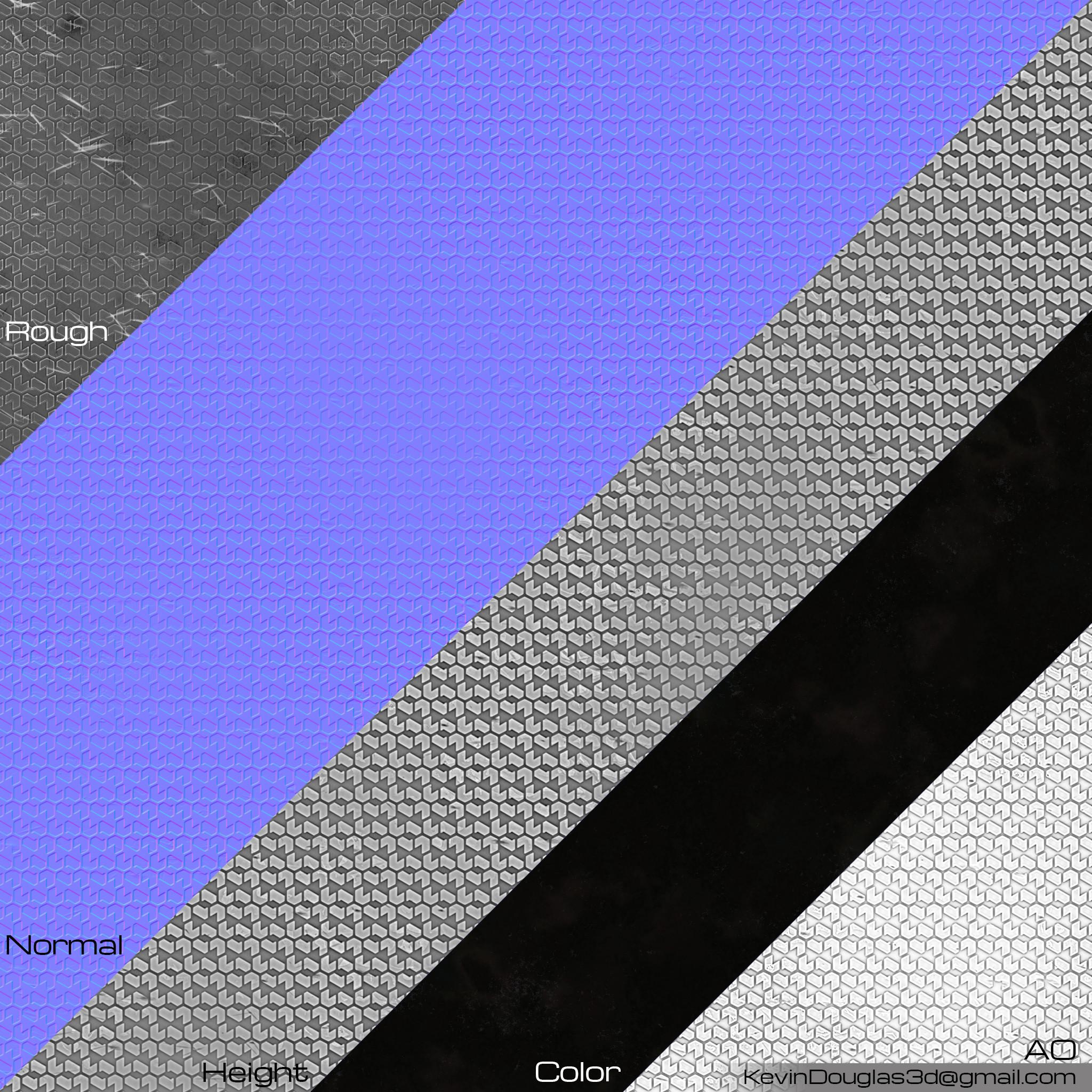 Rubber 6 Texture Maps