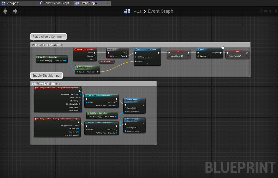 Artstation black tears game alpha update mike wilson a simple blueprint that would play a sound cue or alices comment when inspecting items in the world malvernweather Choice Image