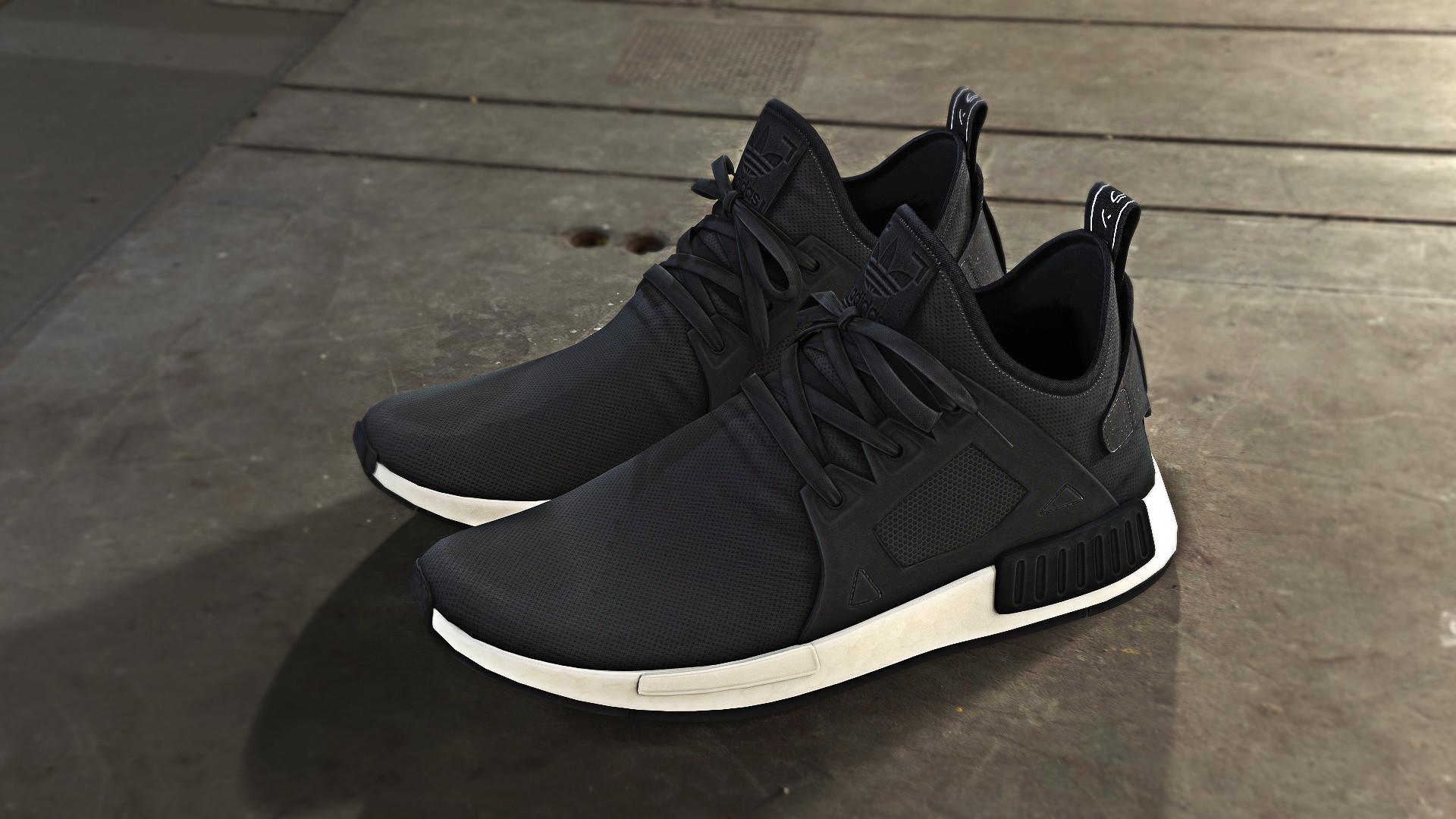 ArtStation Adidas Sneakers Fan Art, Lon Ganancial