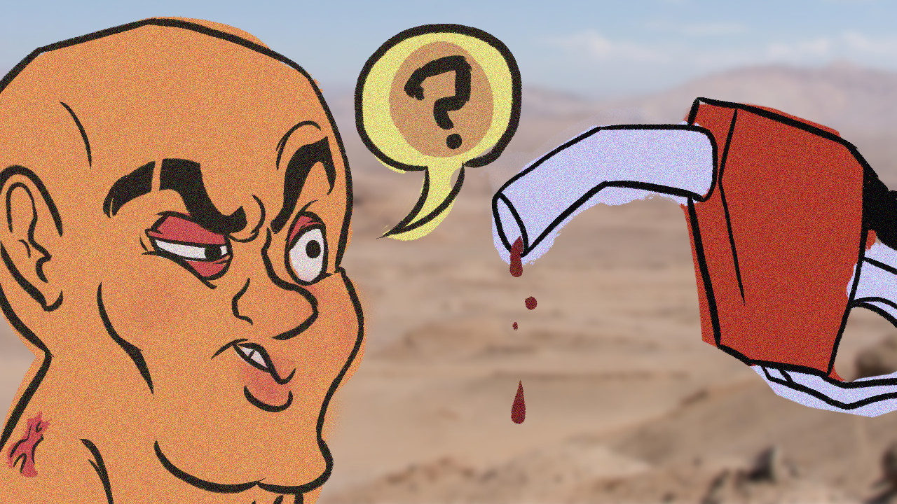 """Thumbnail for the """"Mad Max"""" episode on """"Totally Good at Games""""."""
