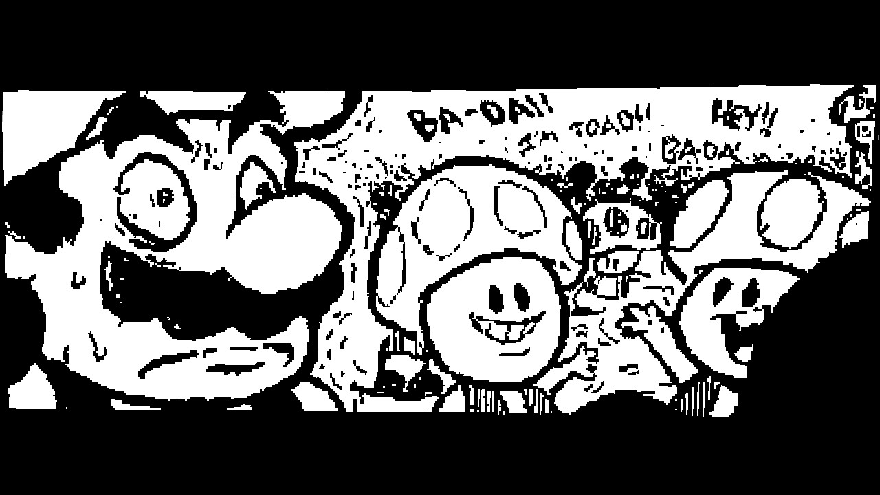 A Miiverse drawing I made on the Wii U touchpad.