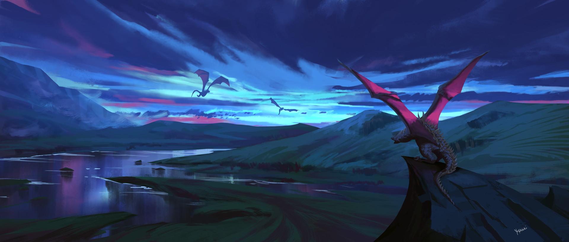 Harrison yinfaowei 18 8 17 dragons