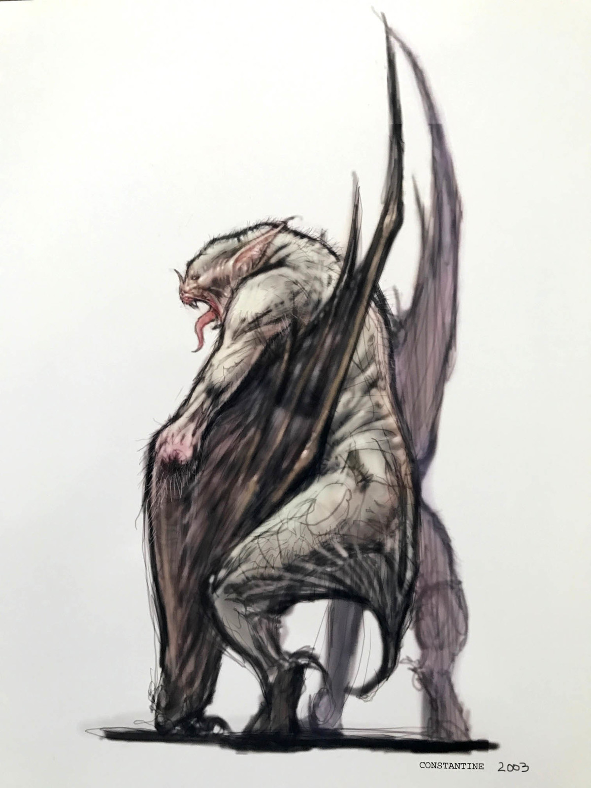 Bat creature van helsing