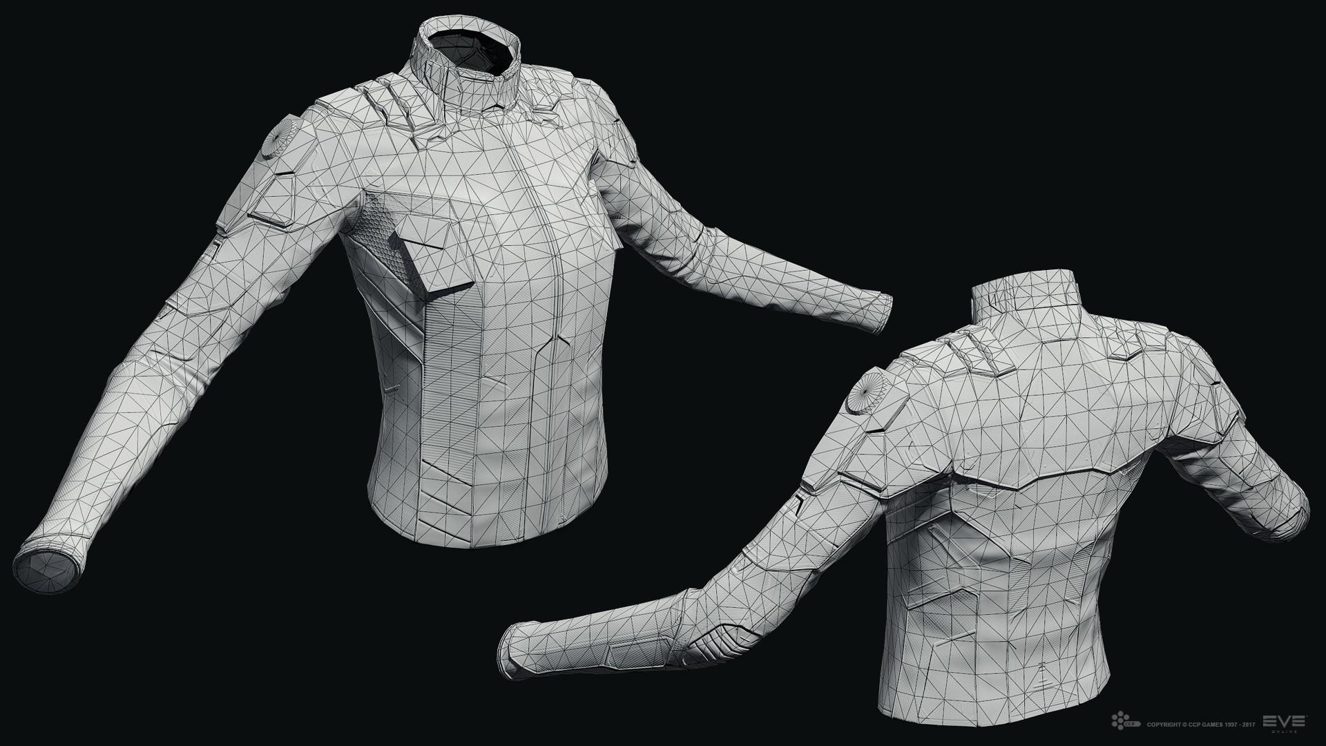 ArtStation - EVE Online - Exploration Suit, Jakob Falkenberg