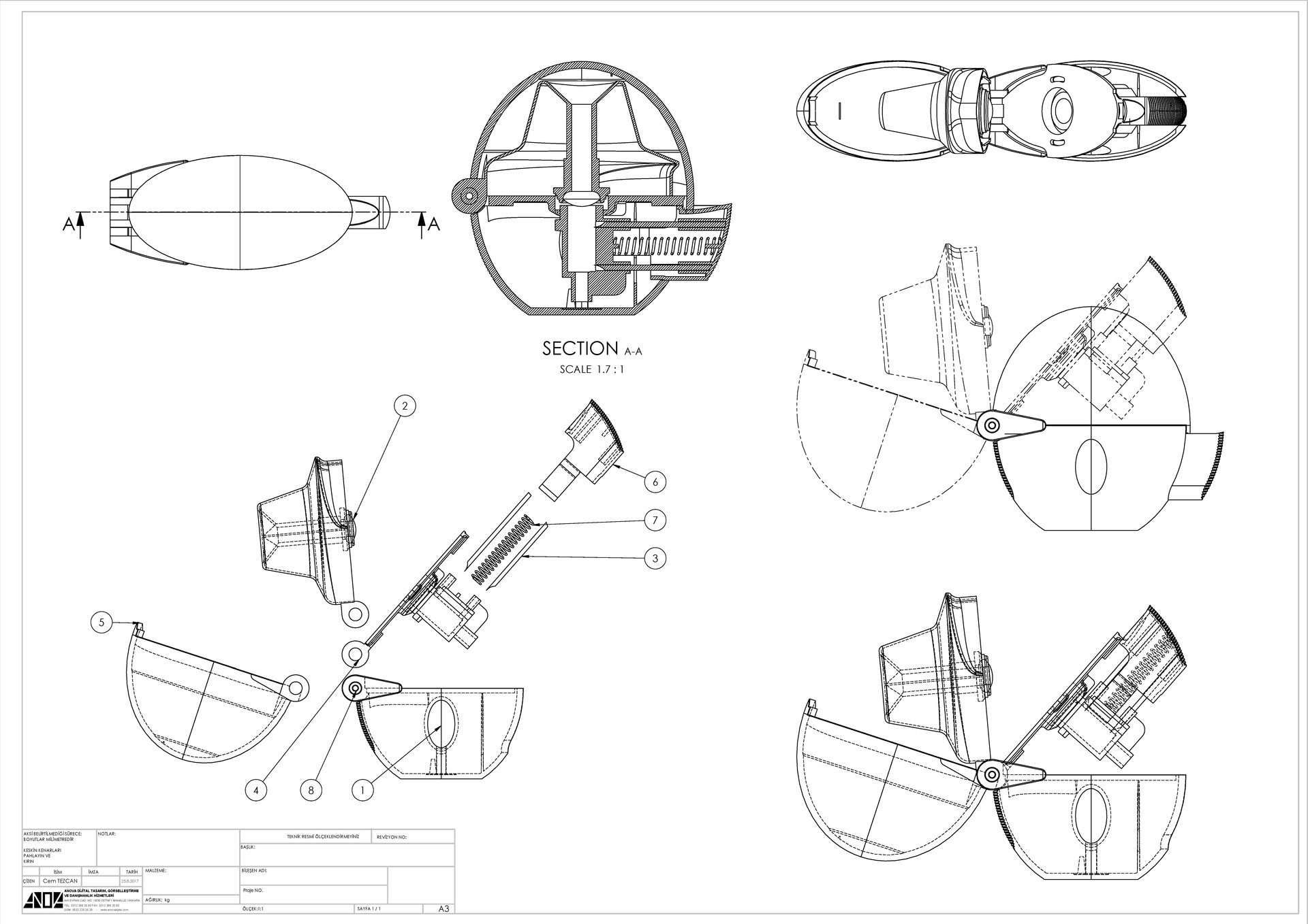 Cem tezcan technical drawing