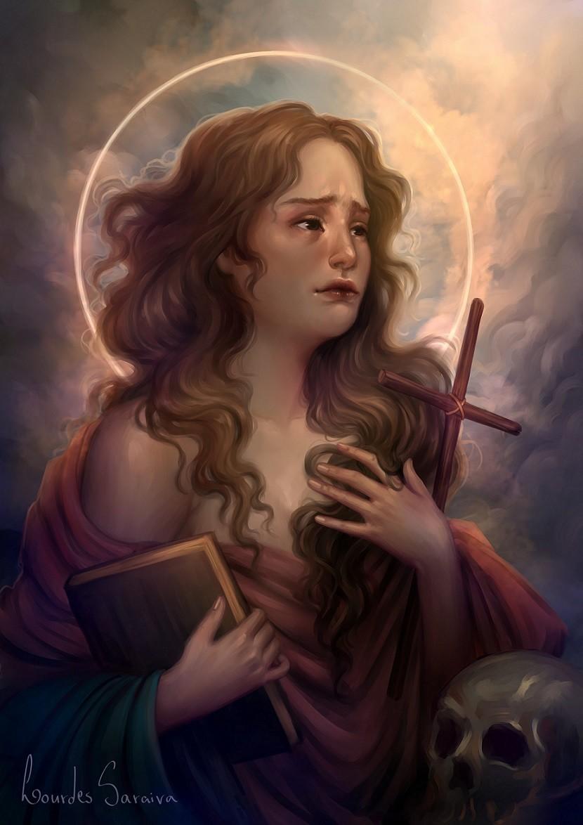 Lourdes saraiva mary magdalene
