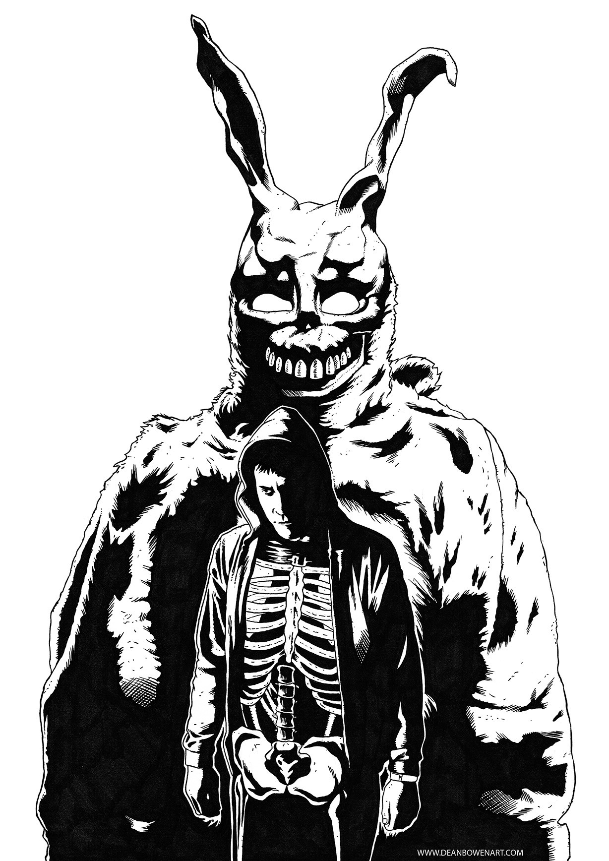 Dean bowen donnie darko inked