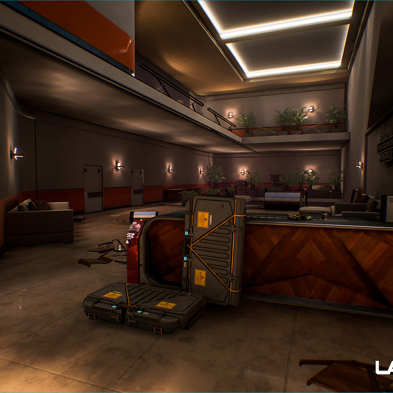 Lawbreakers - Promenade: Implied Spaces