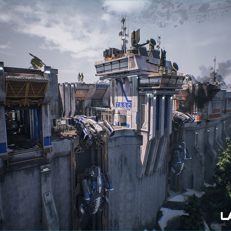 Lawbreakers - Mammoth: Exterior