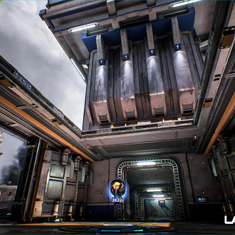Lawbreakers - Mammoth: Exterior Bridge