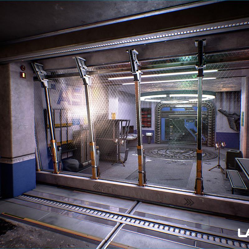 Lawbreakers - Mammoth: Exterior Under Bridge