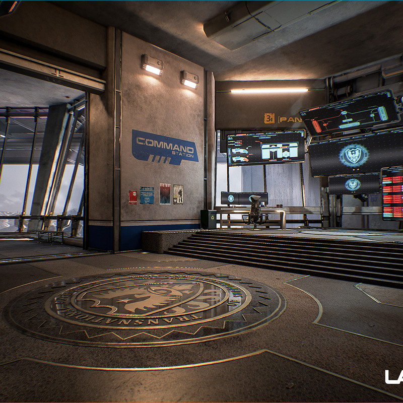 Lawbreakers - Mammoth: Spawn Rooms
