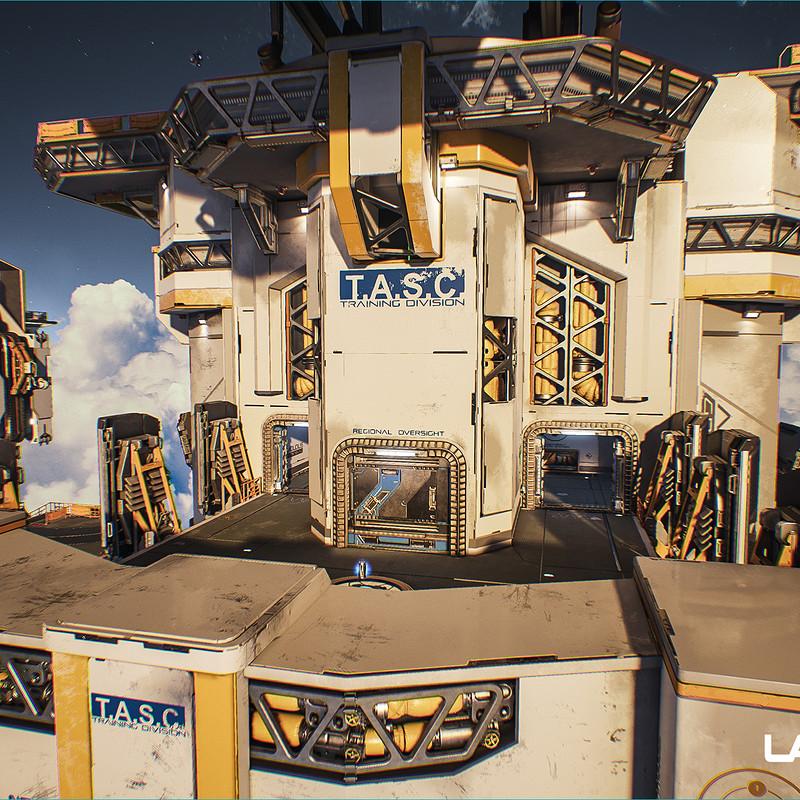 Lawbreakers - Vertigo: Center Structure