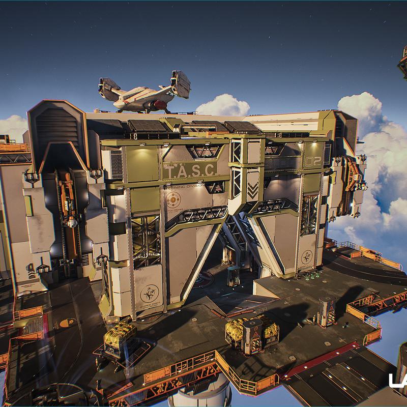 Lawbreakers - Vertigo: Exterior tops