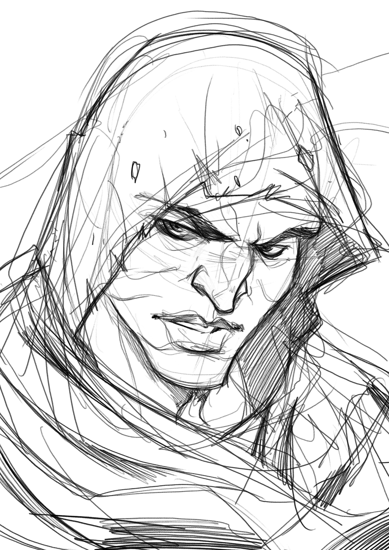 Artstation Bayek Assassin S Creed Origins Sketch Nicolo
