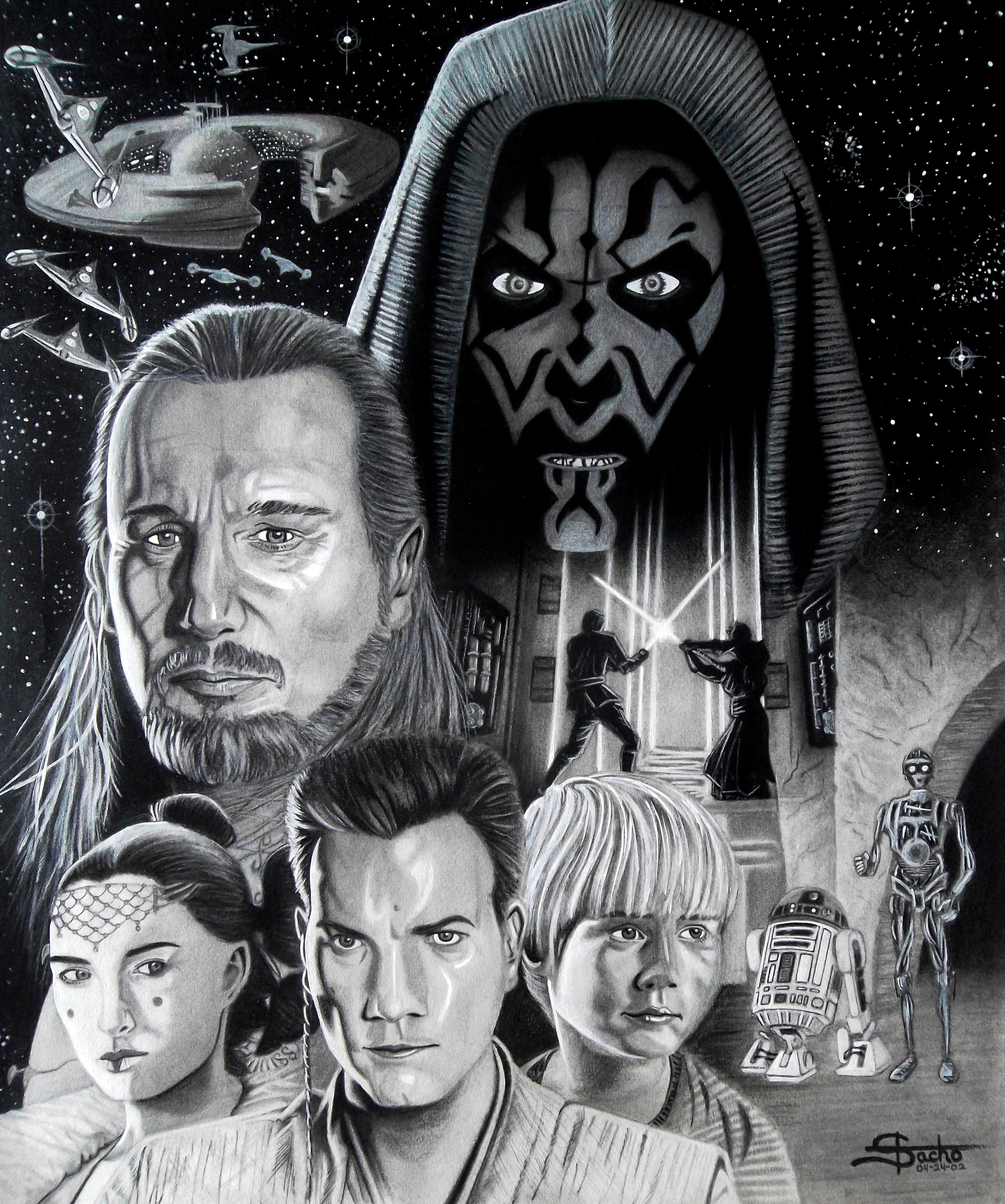 The Phantom Menace This is not my favorite piece as I could have done better, but it does have some quality to it.