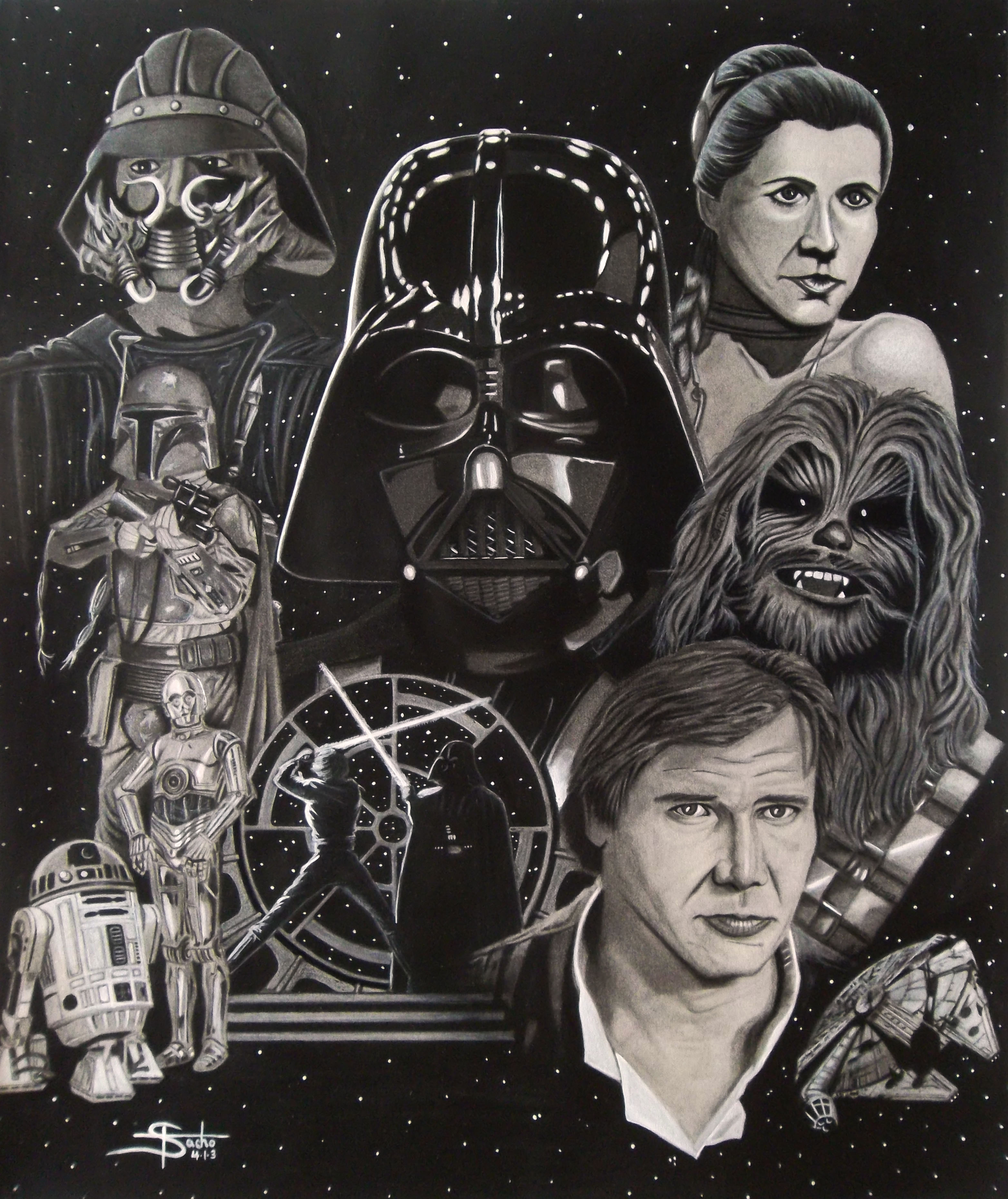 """Return of the Jedi """"This was my most favorite Star Wars movie as a kid."""""""