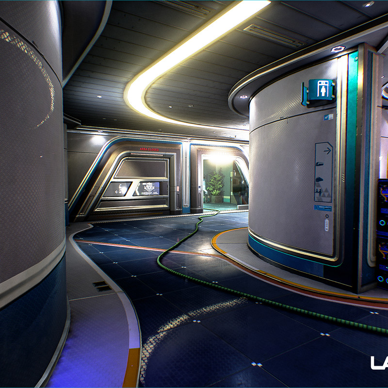 LawBreakers - Station: Lower Hallways