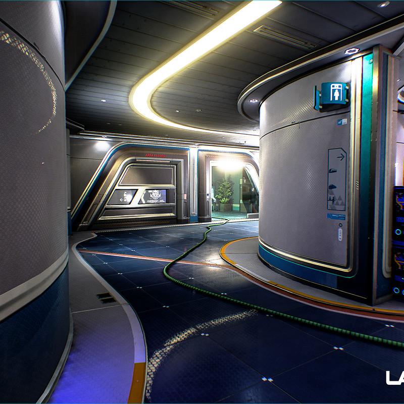 LawBreakers - Station: Lower Hallways