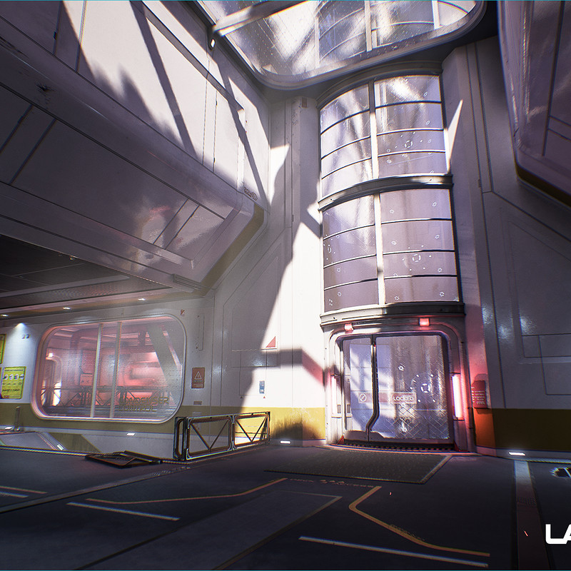 Lawbreakers - Reactor: Spawn Hallways