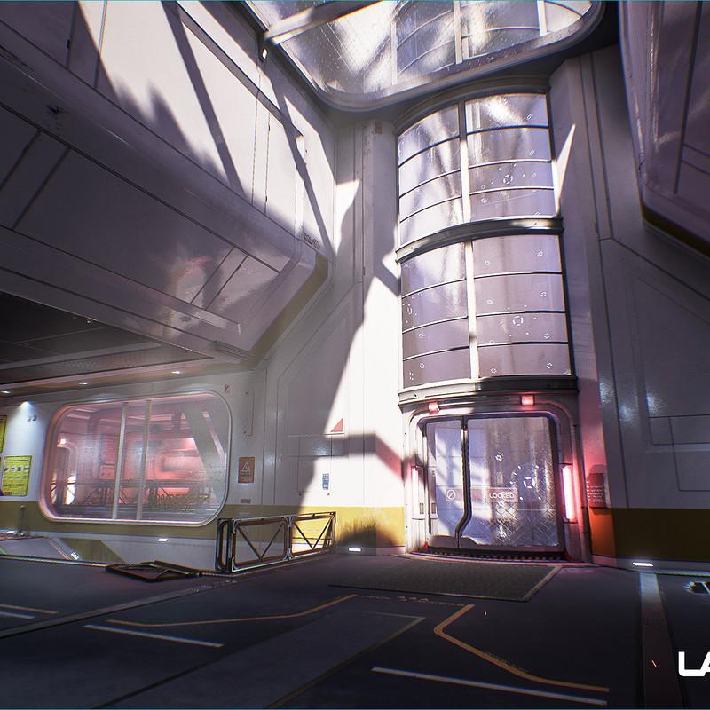 Lawbreakers - Reactor: Spawn Hallways