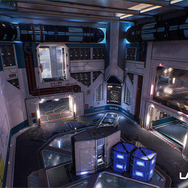 Lawbreakers - Reactor: Battery Room