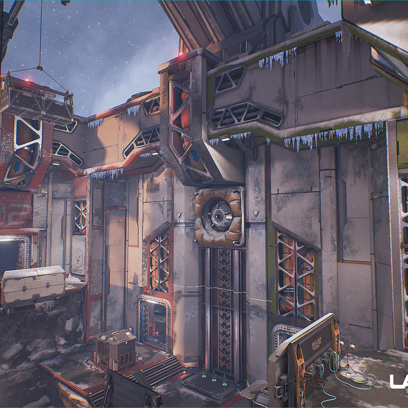 Lawbreakers - Trench: Exterior
