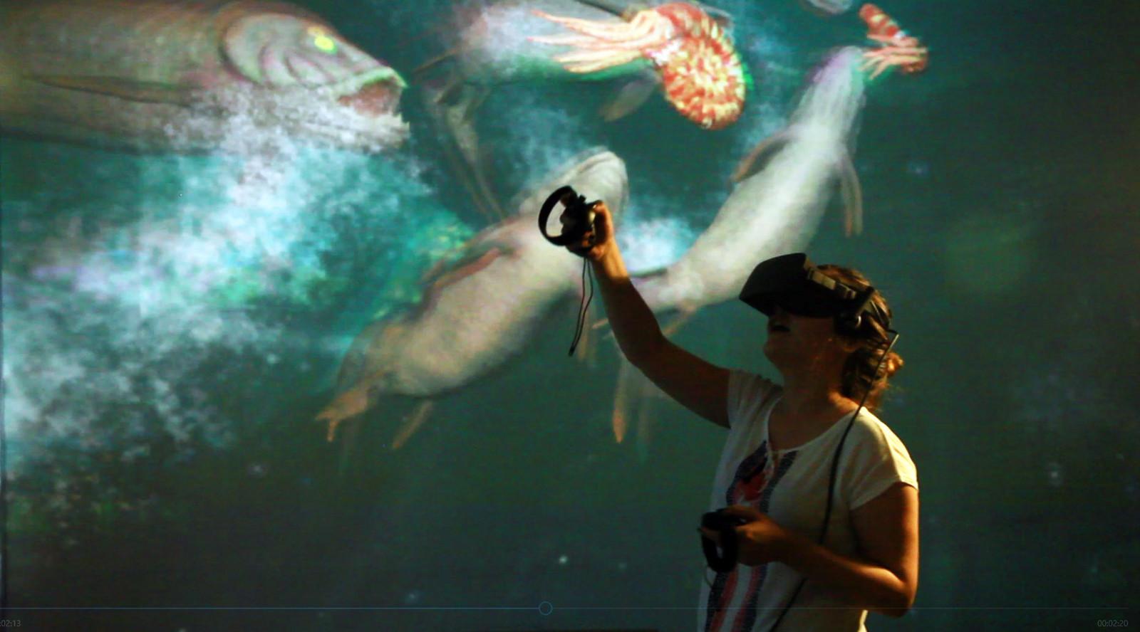 Prehistoric Aquarium VR