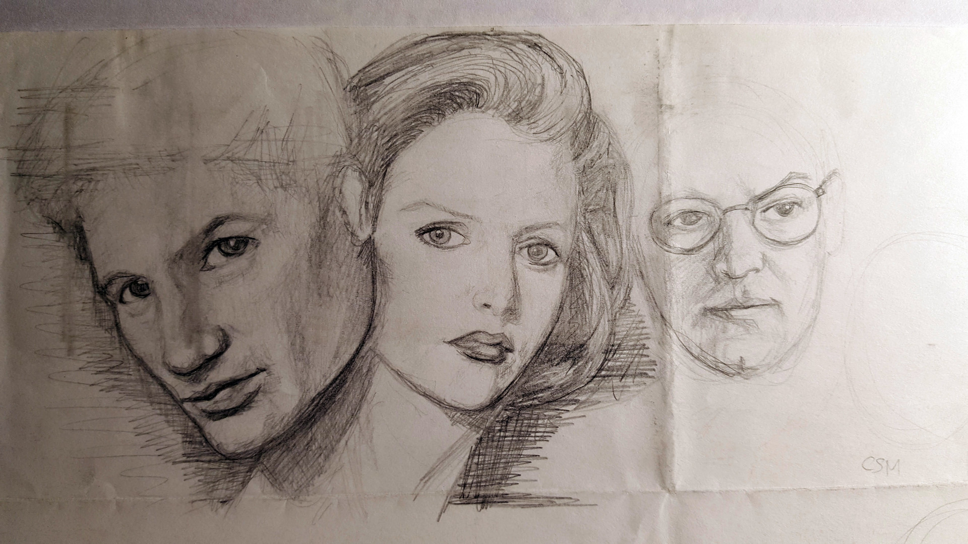 X-Files. Mulder, Scully, and unfinished Skinner.