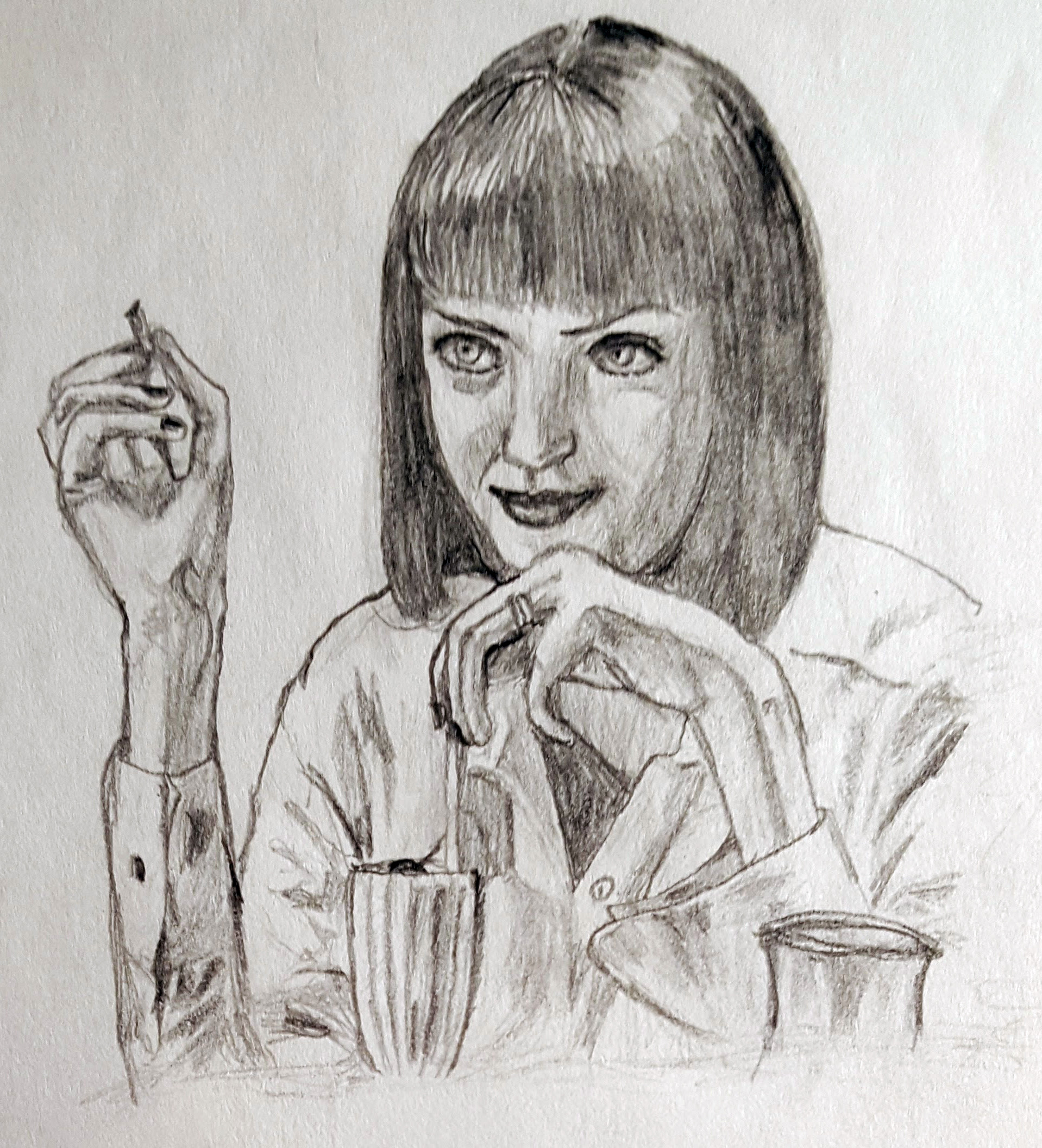 Benni amato pulp fiction mia milkshake