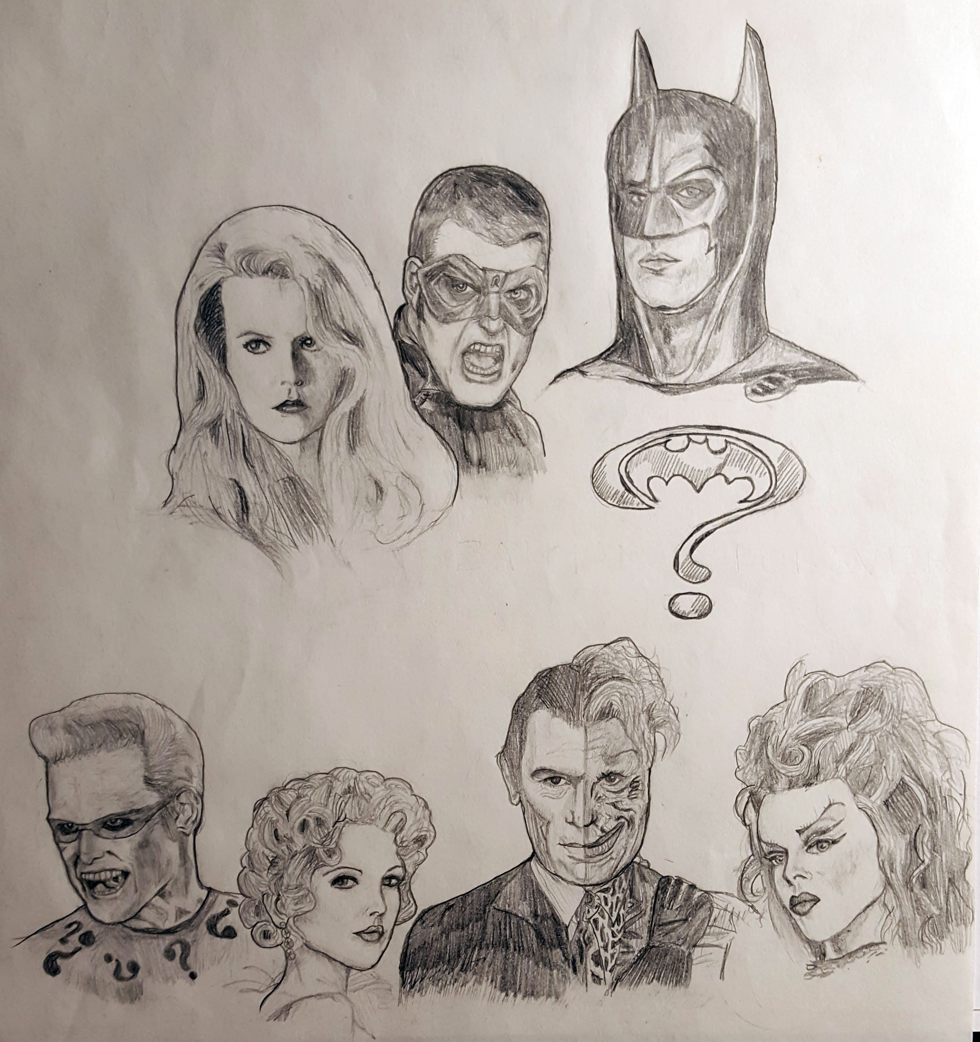 Benni amato batman forever cast