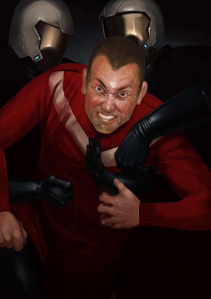 Redshirt Goes Mad